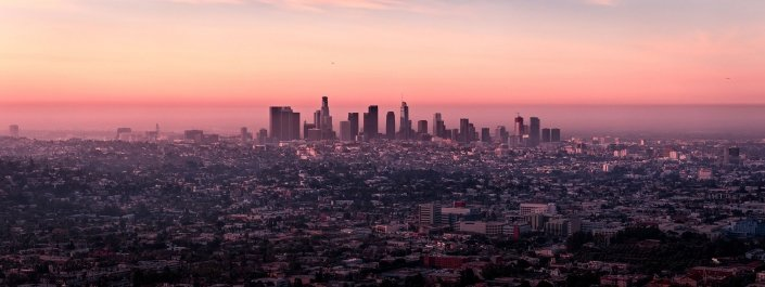 LA Drone footage blog header
