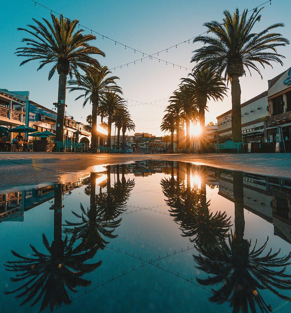 Hermosa Beach, CA pier restaurants