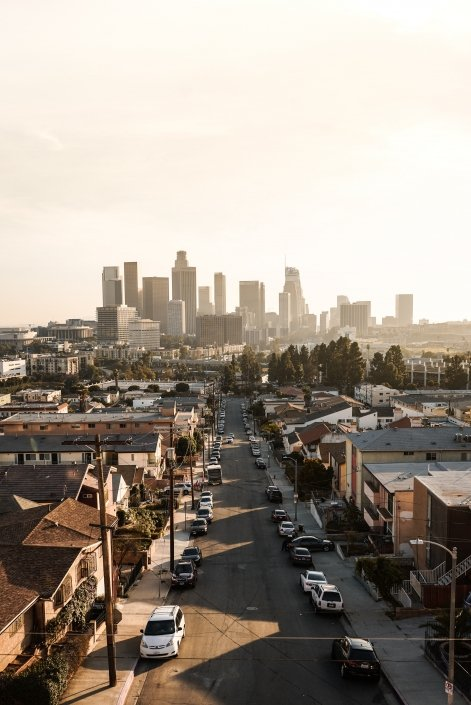 Los Angeles drone videography
